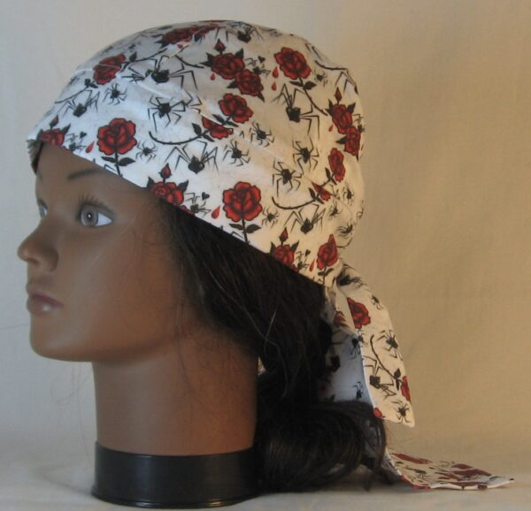 Do Rag in Black Widow Spiders and Red Roses - left