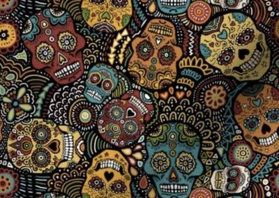 Mexican Sugar Skulls – Extra Small by lusykoror