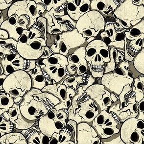 Skull Pile 2 by jadegordon